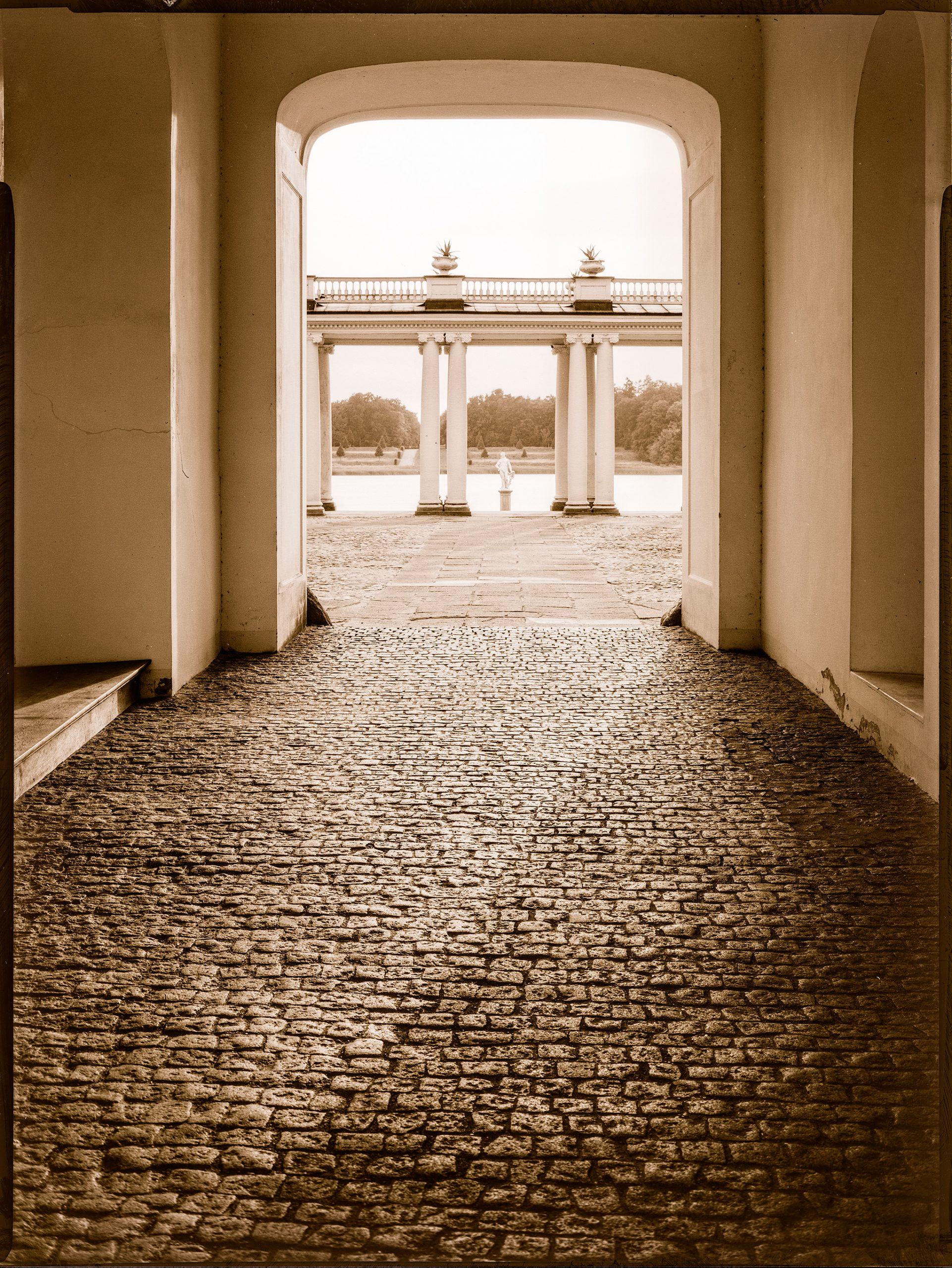 Schloss Rheinsberg, Toreinfahrt
