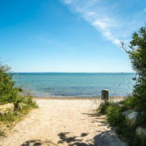 Strandzugang bei Pelzerhaken