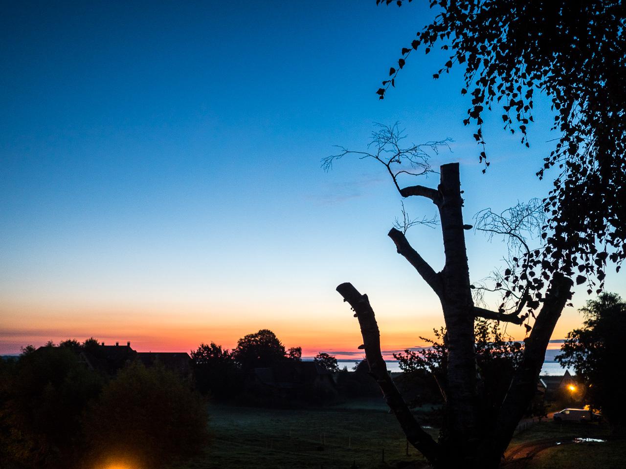 Bodden vor Sonnenaufgang