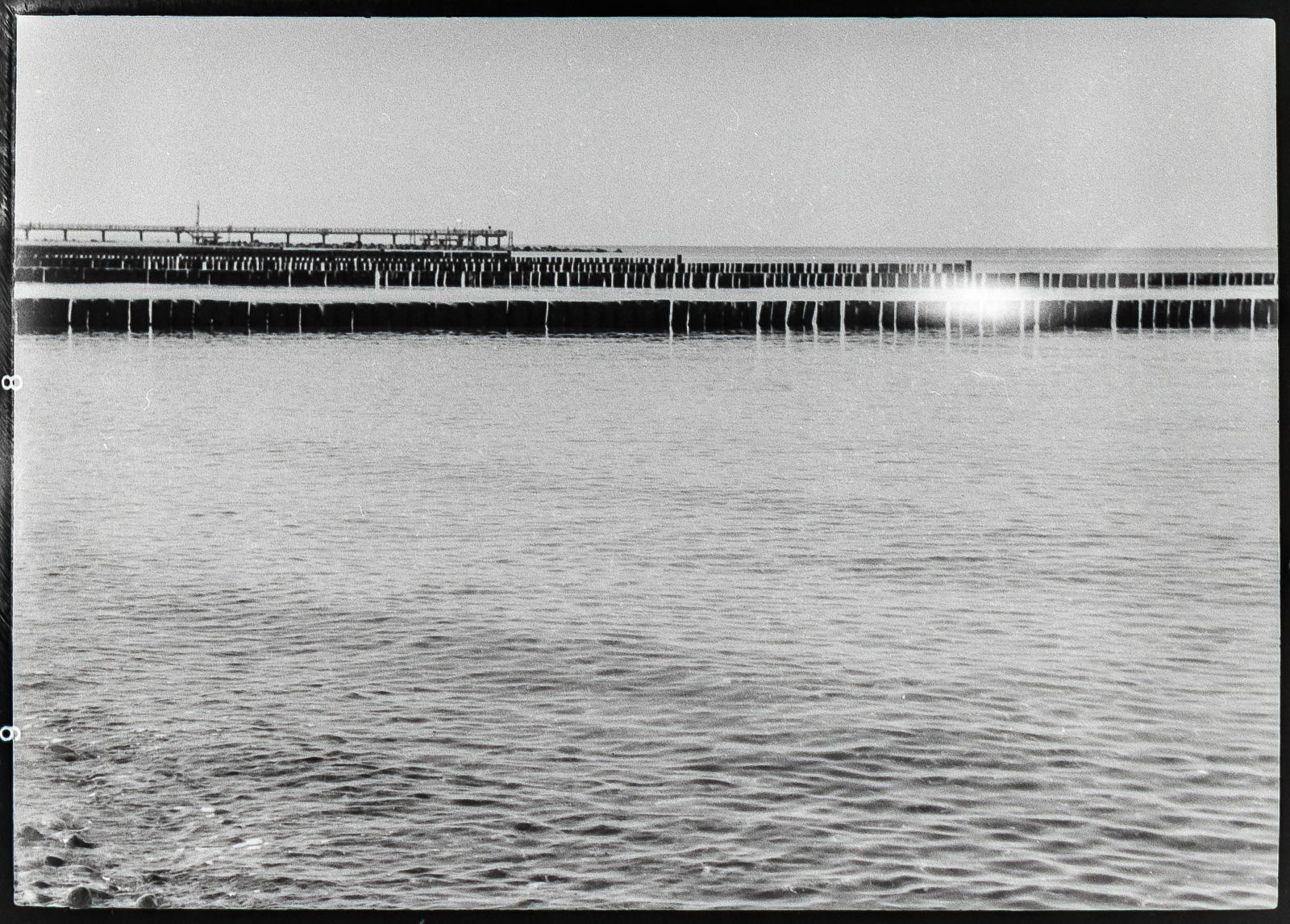 Fischland, Buhnenreihen, Seebrücke Wustrow