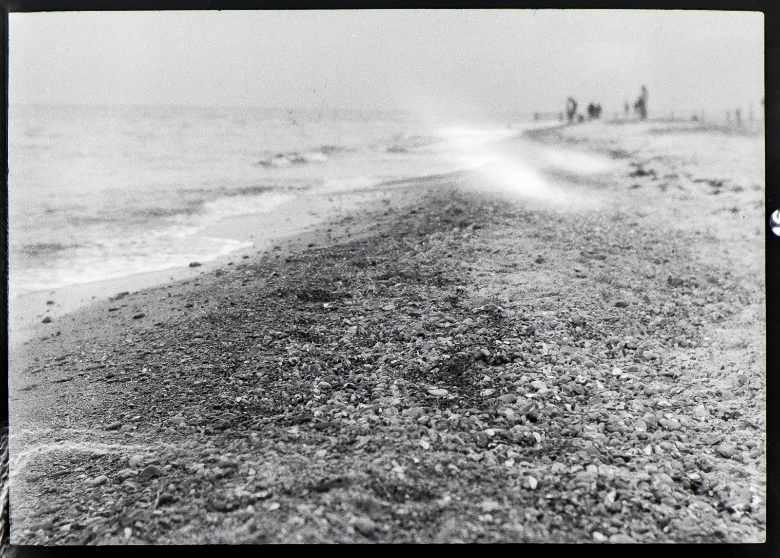 Darßer Ort, Strandansicht diffus