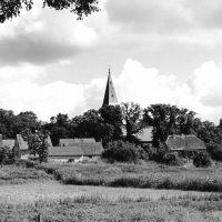 Lunow an der Oder, Dorfsilhouette