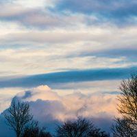 Wolkenhimmel, sRGB-Farbraum
